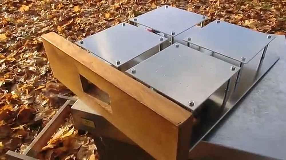 دستگاه ایجاد سونا در کندوی زنبورعسل