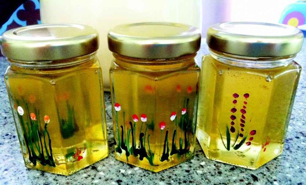 شیشه های عسل برای فروش